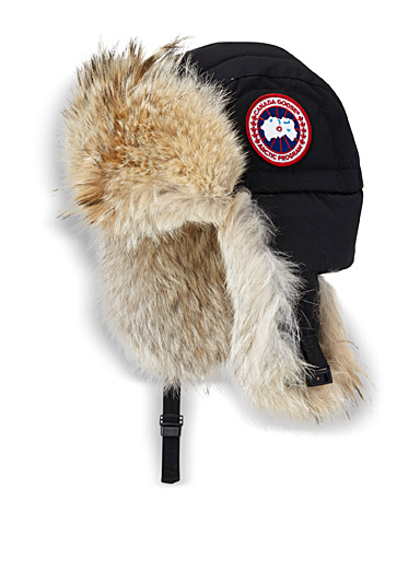 Coyote aviator bomber hat
