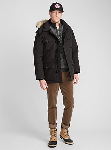 Banff down parka