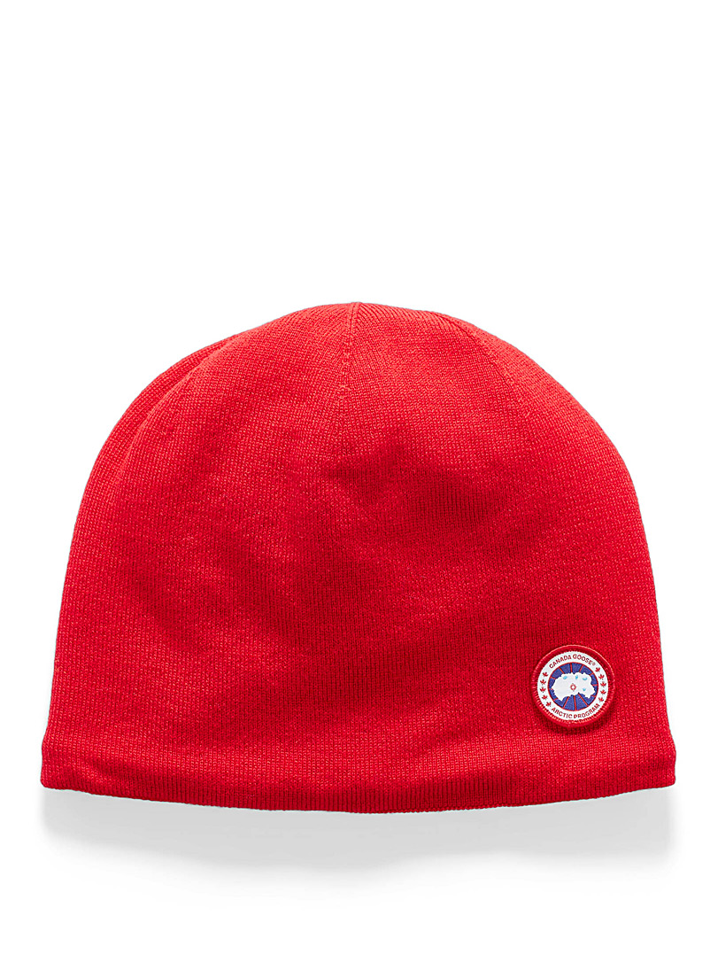 Round logo tuque - Tuques - Red
