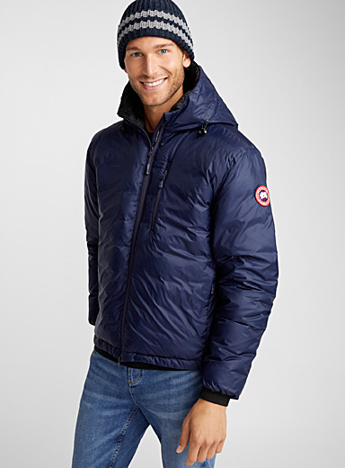 Lodge packable down jacket