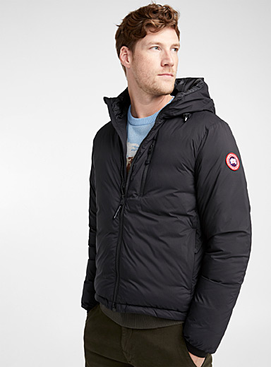 Lodge hooded packable coat