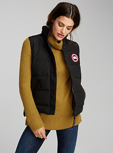 Freestyle quilted vest