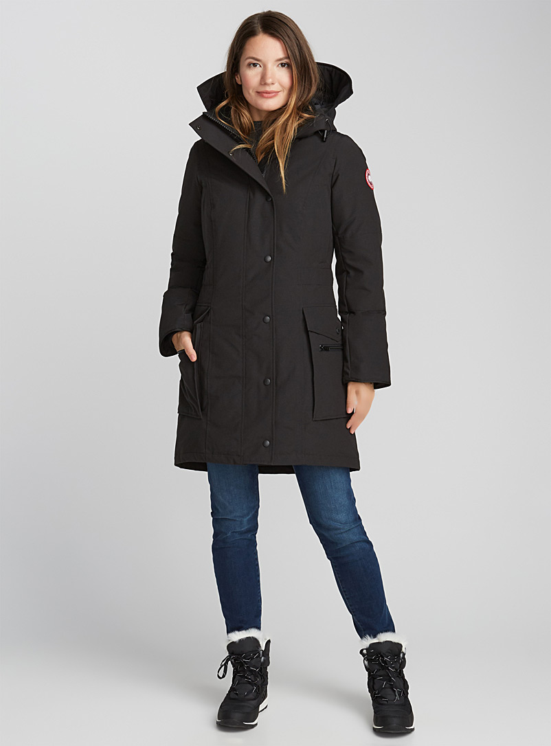 Kinley parka - Anoraks and Parkas - Black