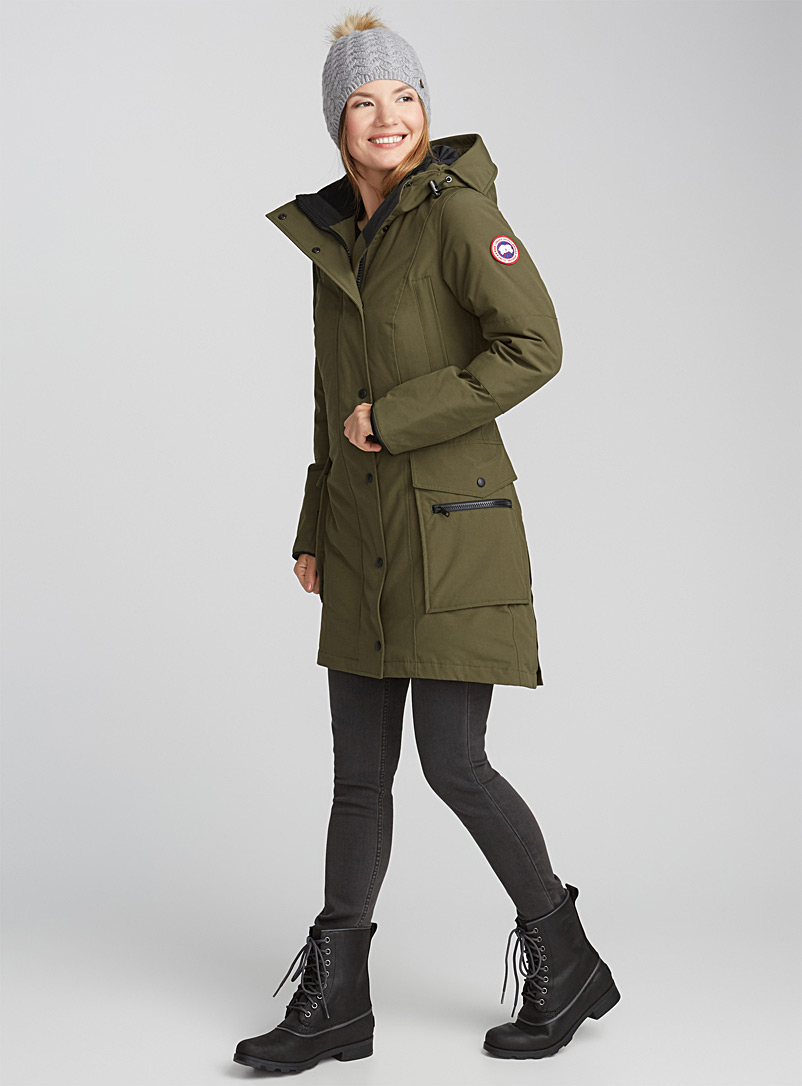 1c9b0e919 Canada Goose Youth Girls Brittania Parka Black - fortyninegroup