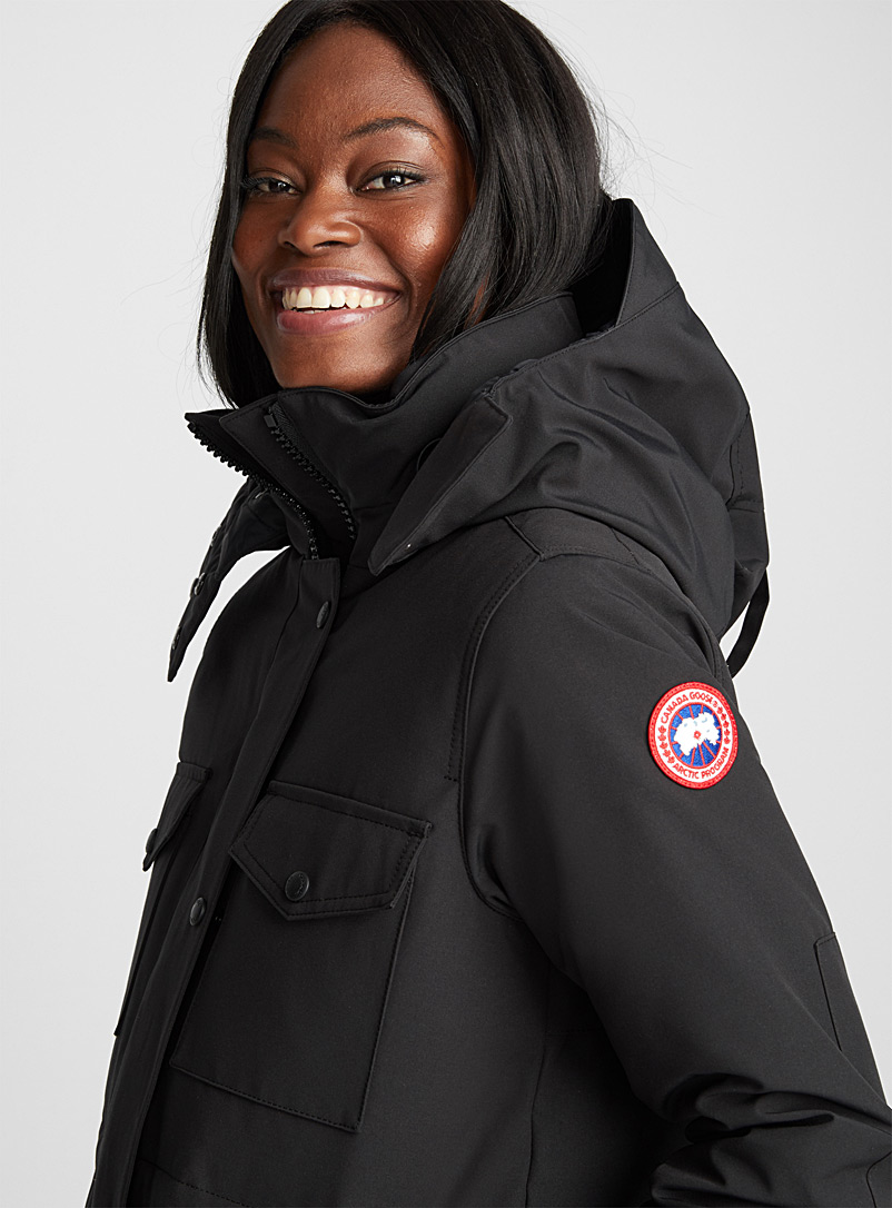 Gabriola parka - Anoraks and Parkas - Black