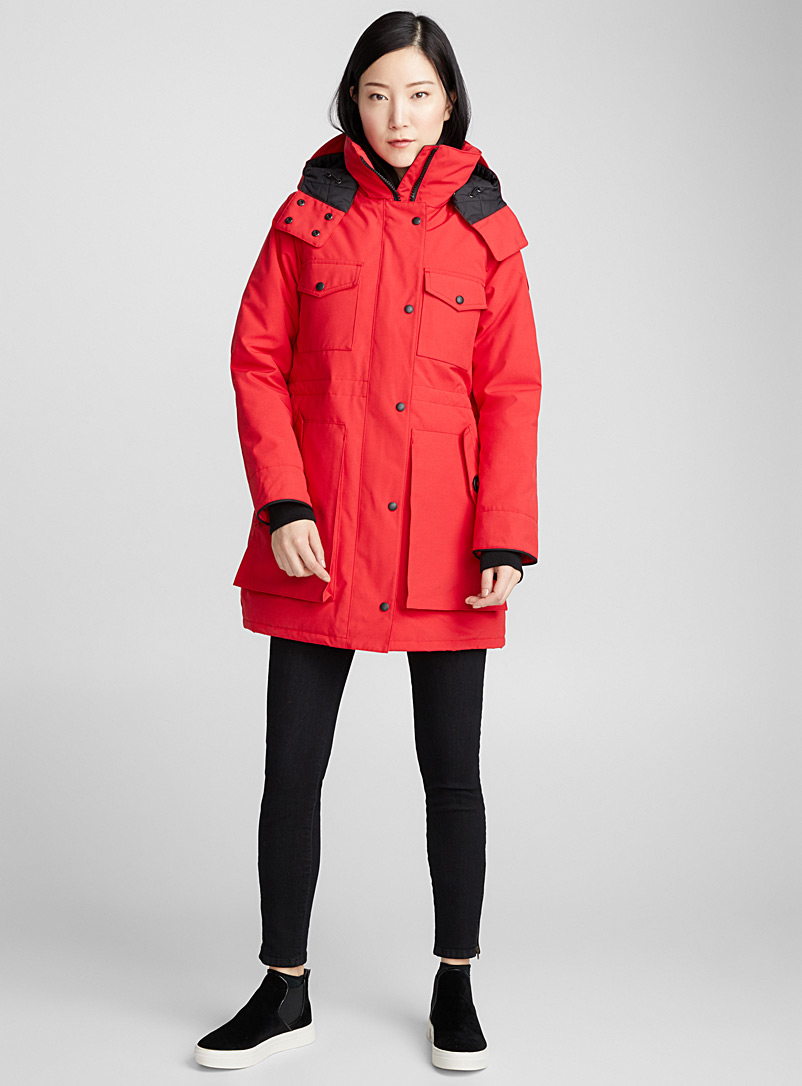 Gabriola parka - Anoraks and Parkas - Ruby Red
