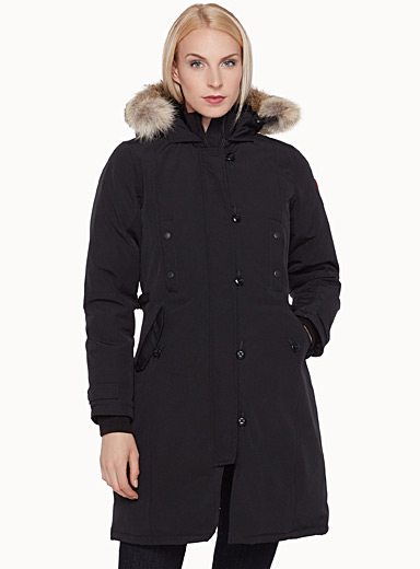 kensington parka canada goose shop women s quilted and down rh simons ca