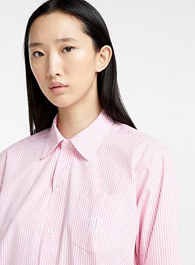 Pastel striped nightshirt