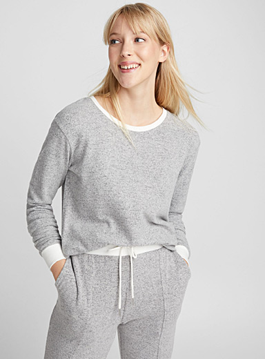 Le pull chiné