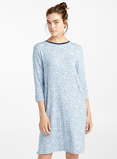 Tender print nightgown