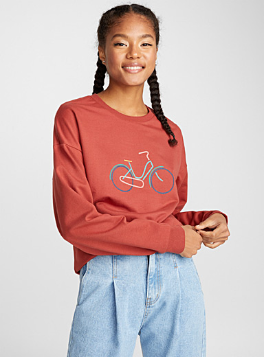 Le sweat image accent