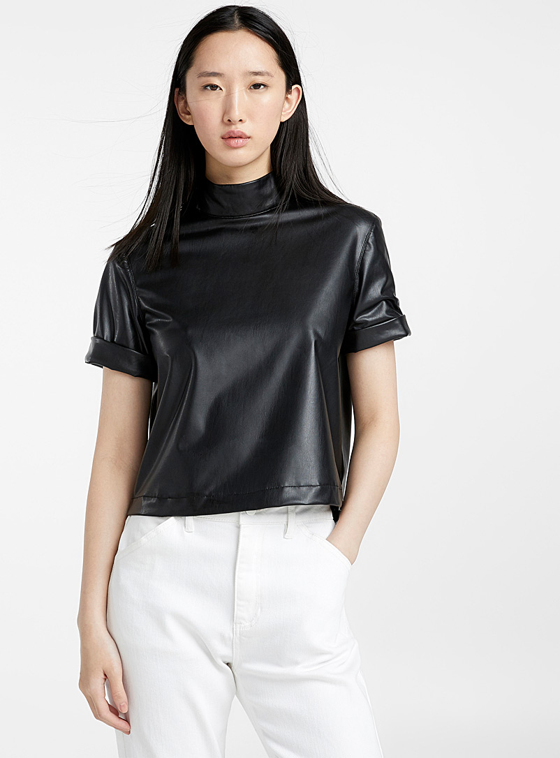 faux-leather-boxy-high-neck