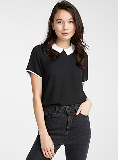Recycled polyester blouse