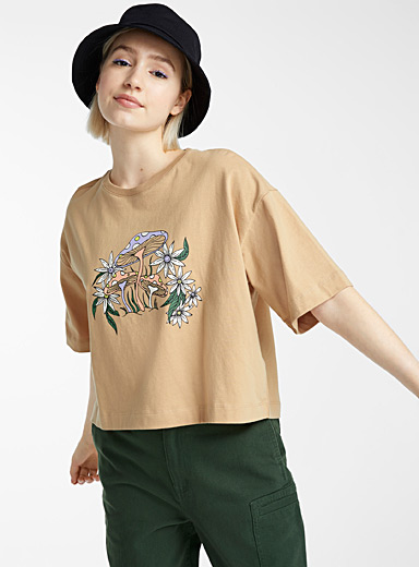 Le t-shirt ultra-ample coton bio