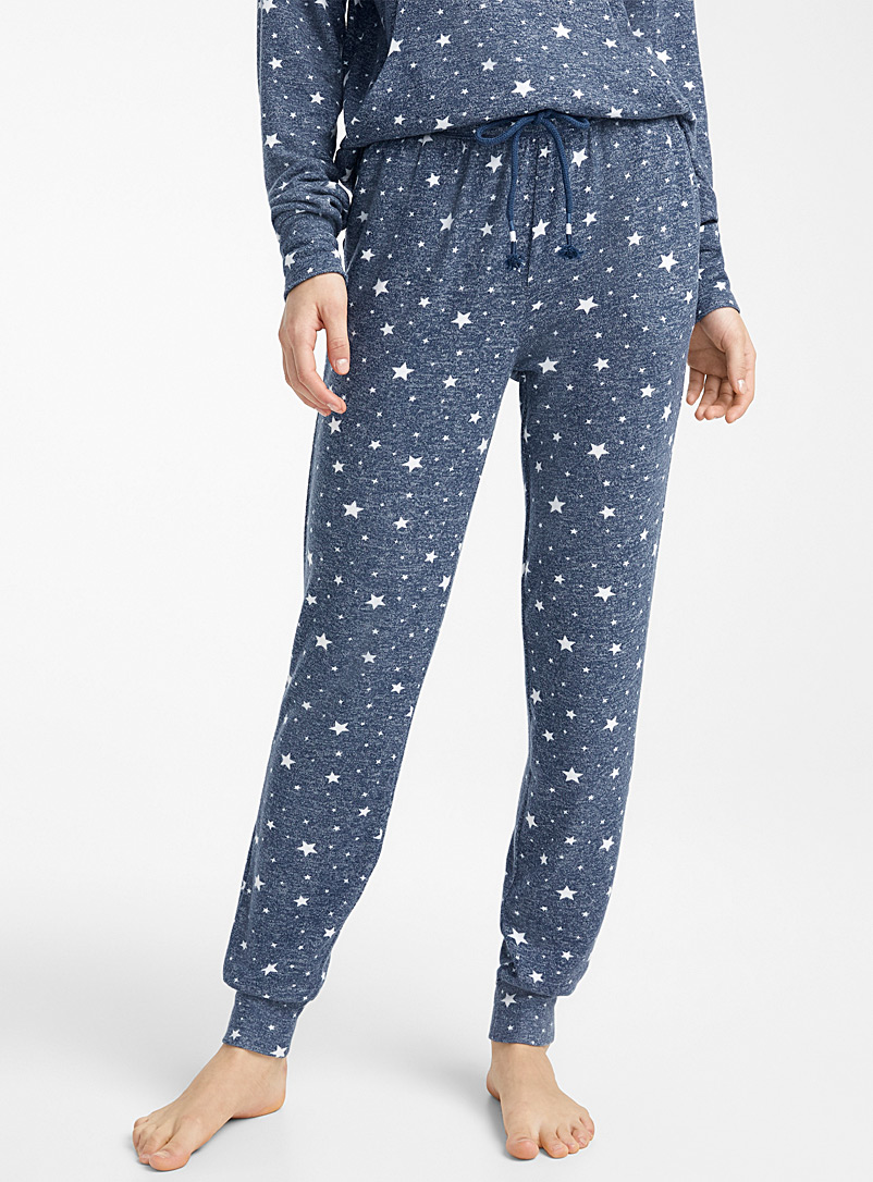 patterned-heathered-joggers