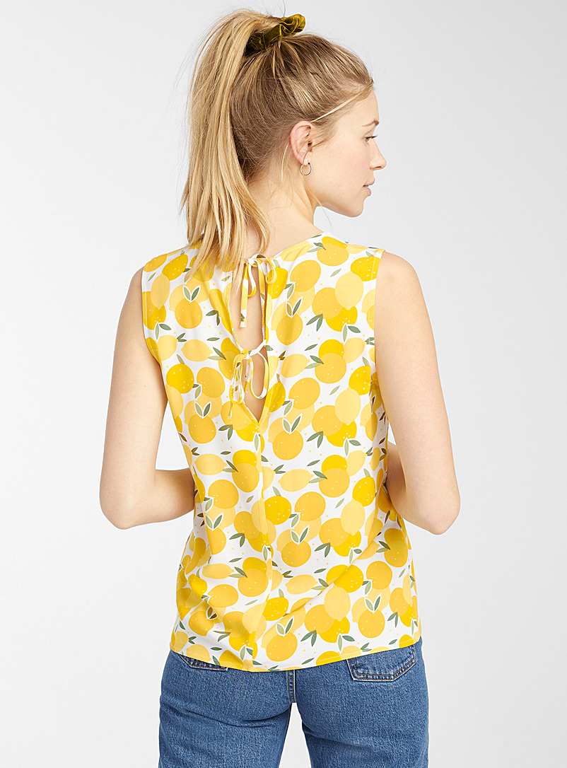 Twik Assorted Eco-friendly viscose bow-back cami for women