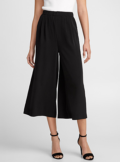 Ultra wide silky pant