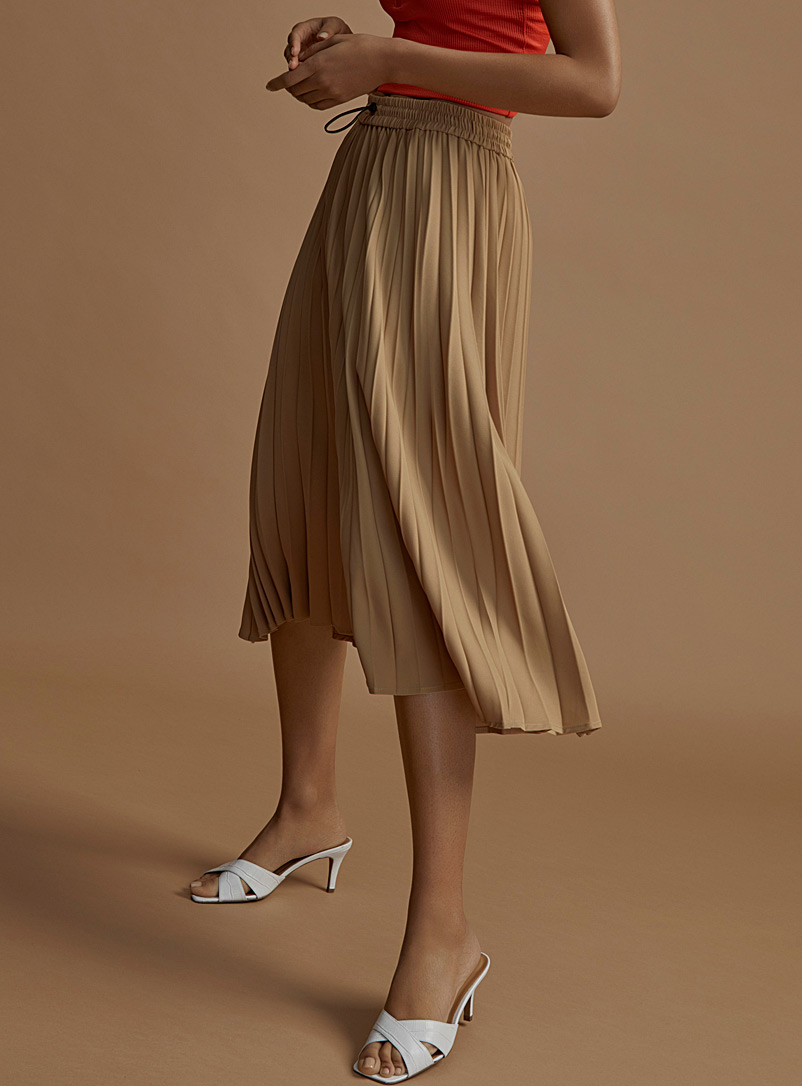 recycled-polyester-tie-waist-skirt