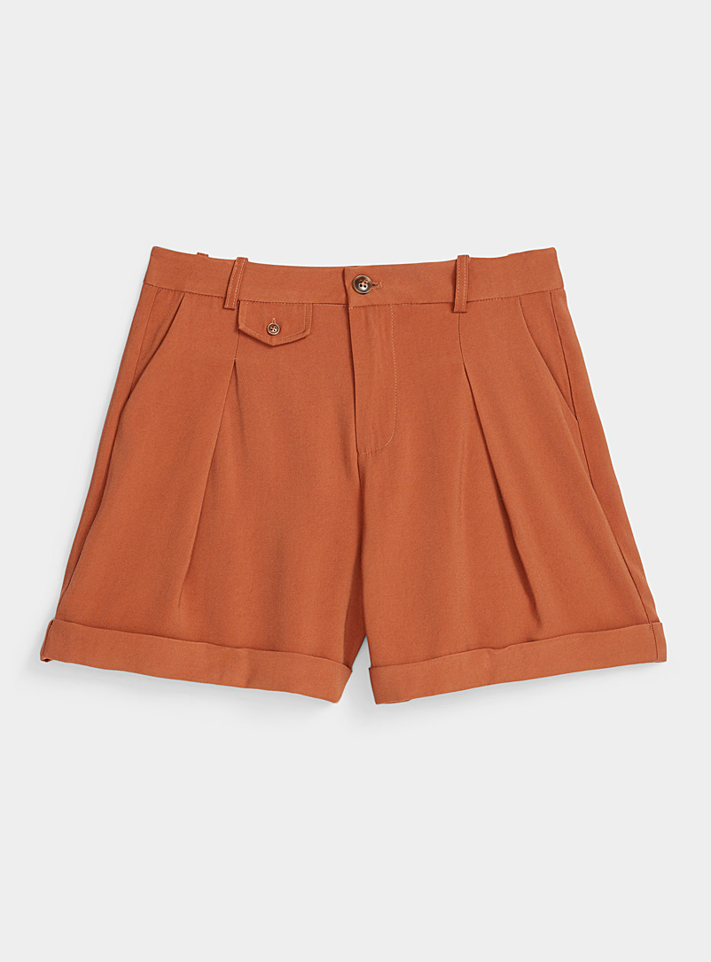 Twik Medium Brown Utility grandpa short for women
