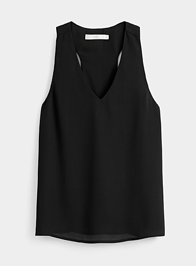 Recycled polyester racerback cami
