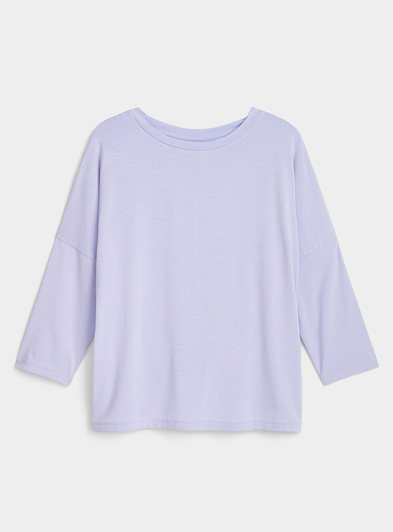 3/4 sleeve modal T-shirt
