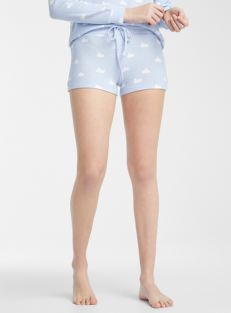 Miiyu x Twik Patterned Blue Soft as a cloud boxer brief for women