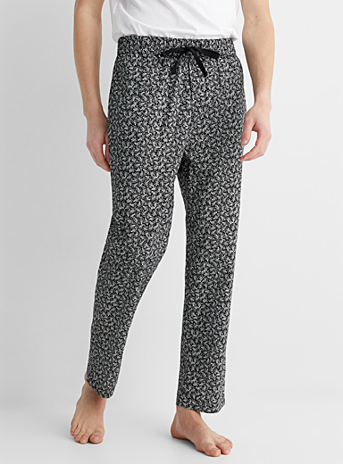 Organic cotton printed lounge pant