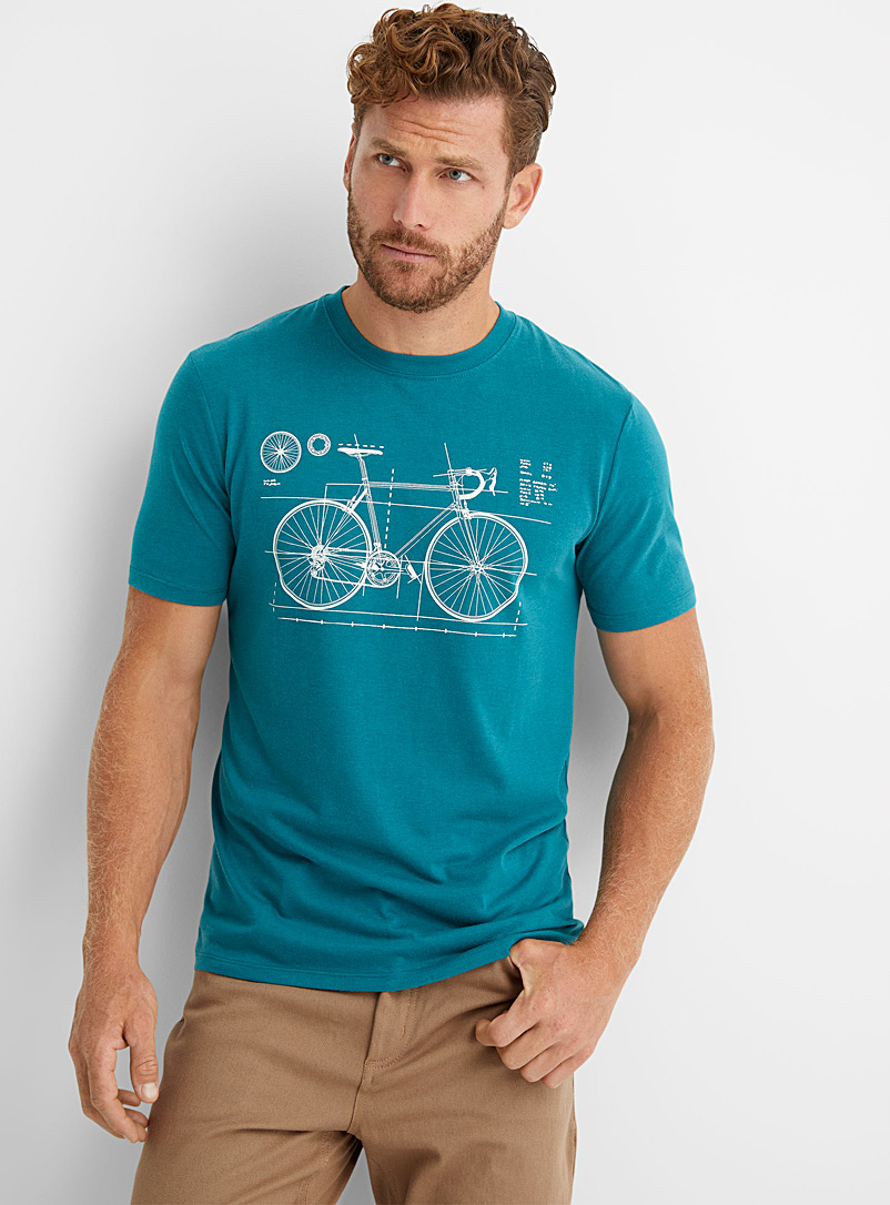 Le 31 Assorted Cycling T-shirt for men