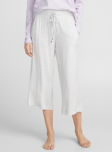 Heathered gaucho pant