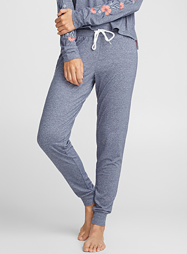 Heather jersey joggers