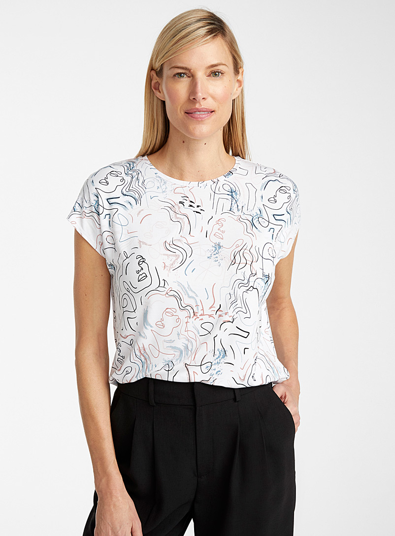 abstract-faces-tee