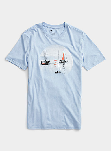 Le t-shirt pied marin