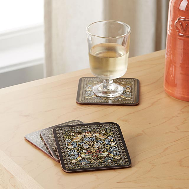 enchanted-birds-laminated-cork-coasters-set-of-4