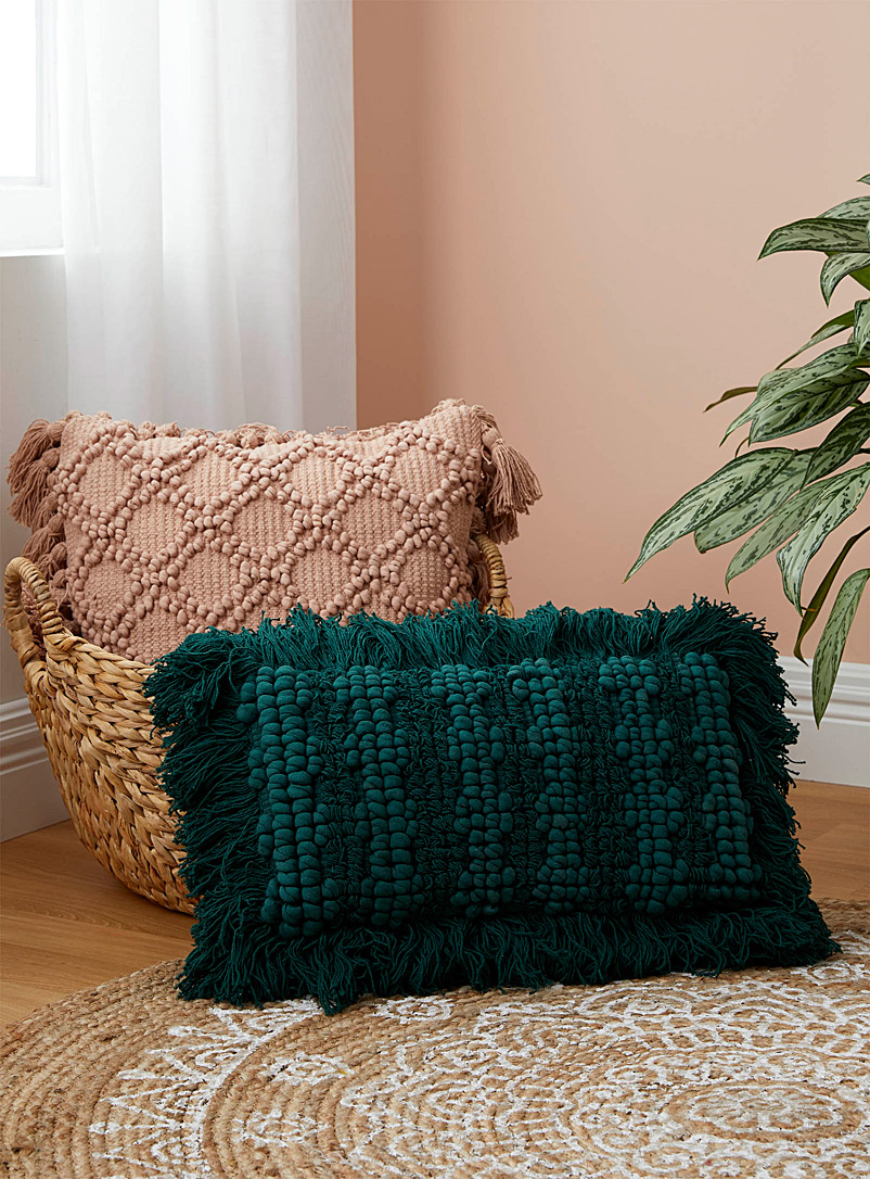 Linen House Green Lush jungle pure cotton pillow sham