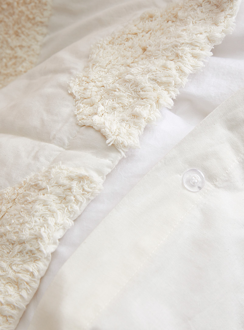 Linen House: L'ensemble housse Moonrise Blanc