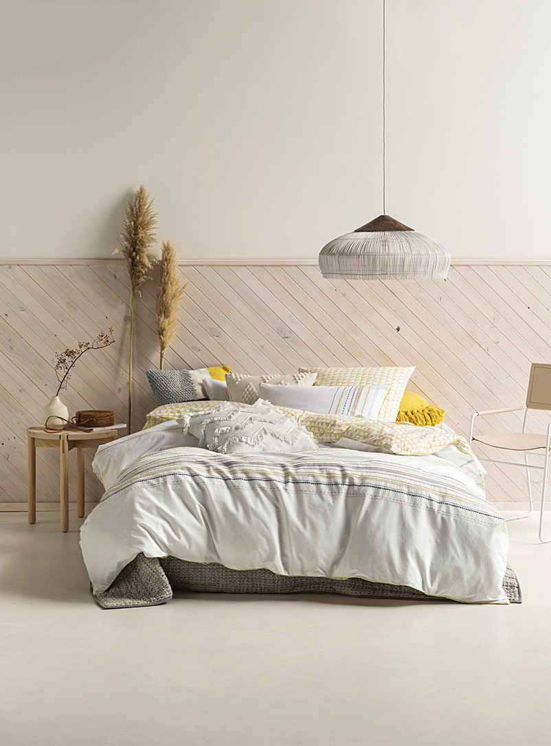 Simply sunny duvet cover set - Duvet Covers - White