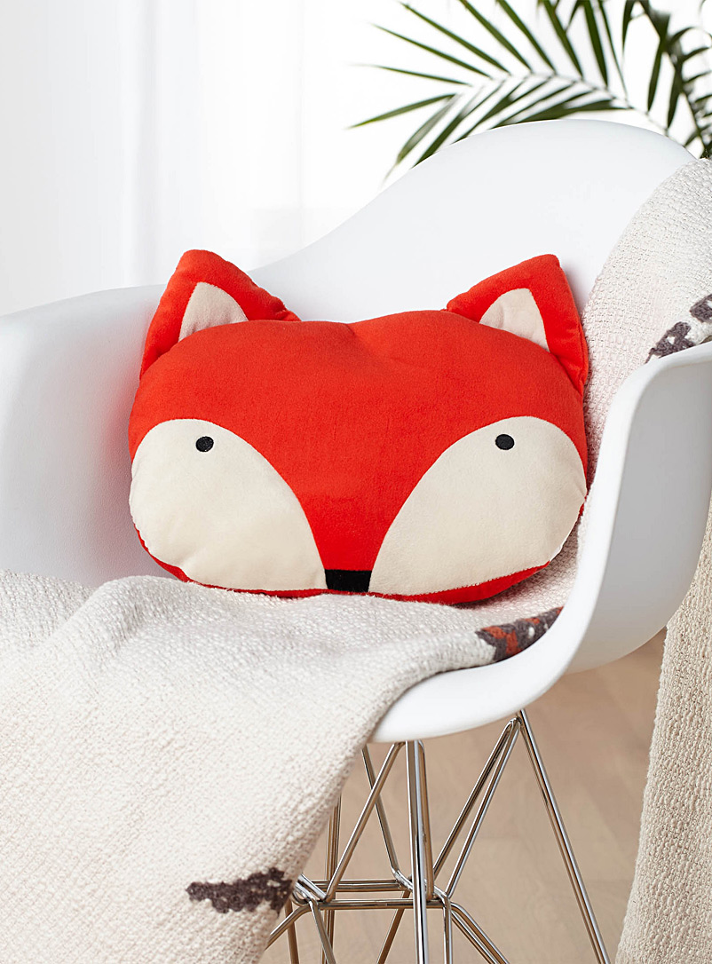 Sly fox cushion  35 x 30 cm - Cushions - Orange