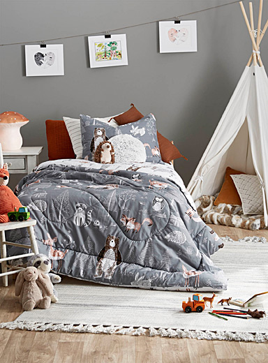 Into the woods comforter set