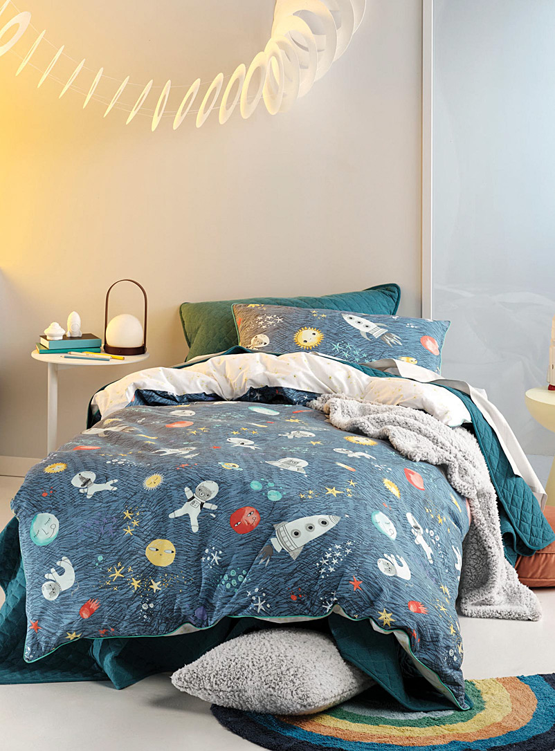 Hiccups Assorted Space Race duvet cover set