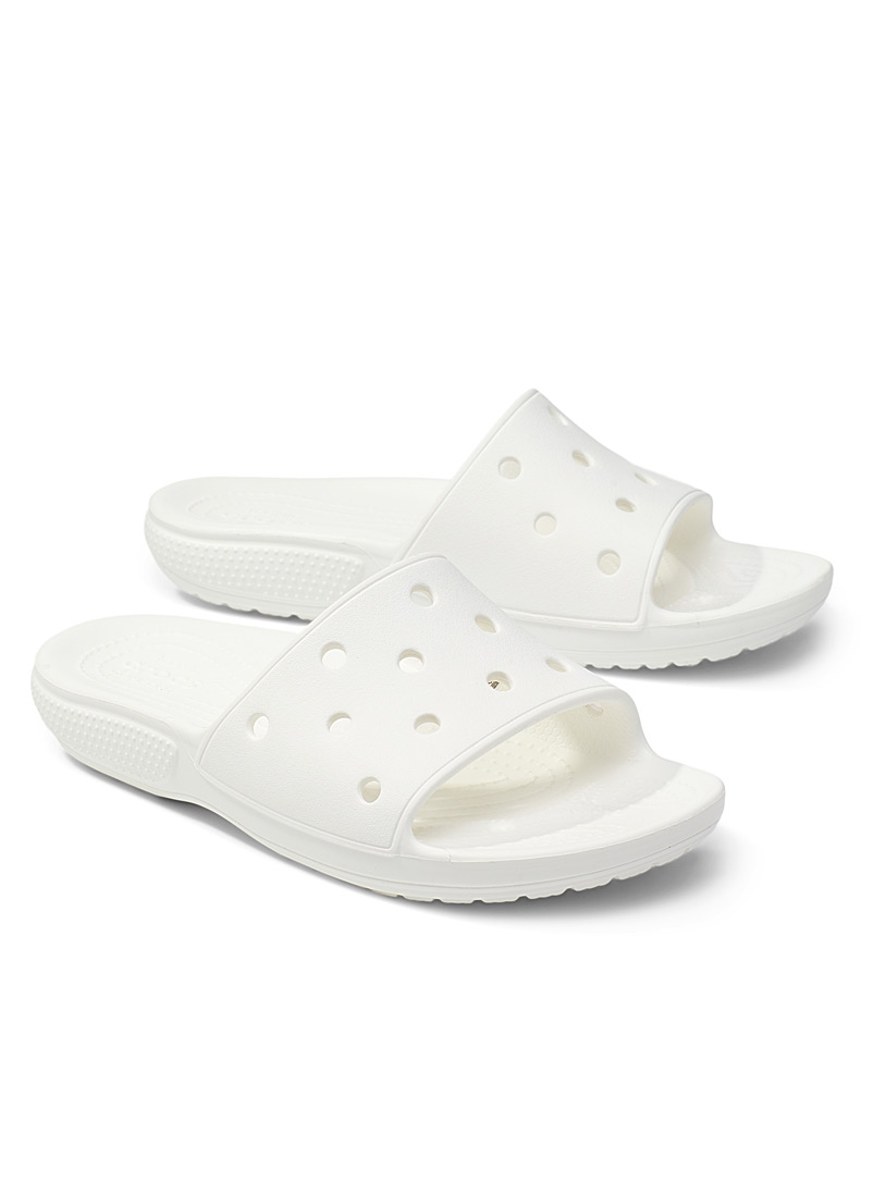 Crocs White Classic slides Women for women