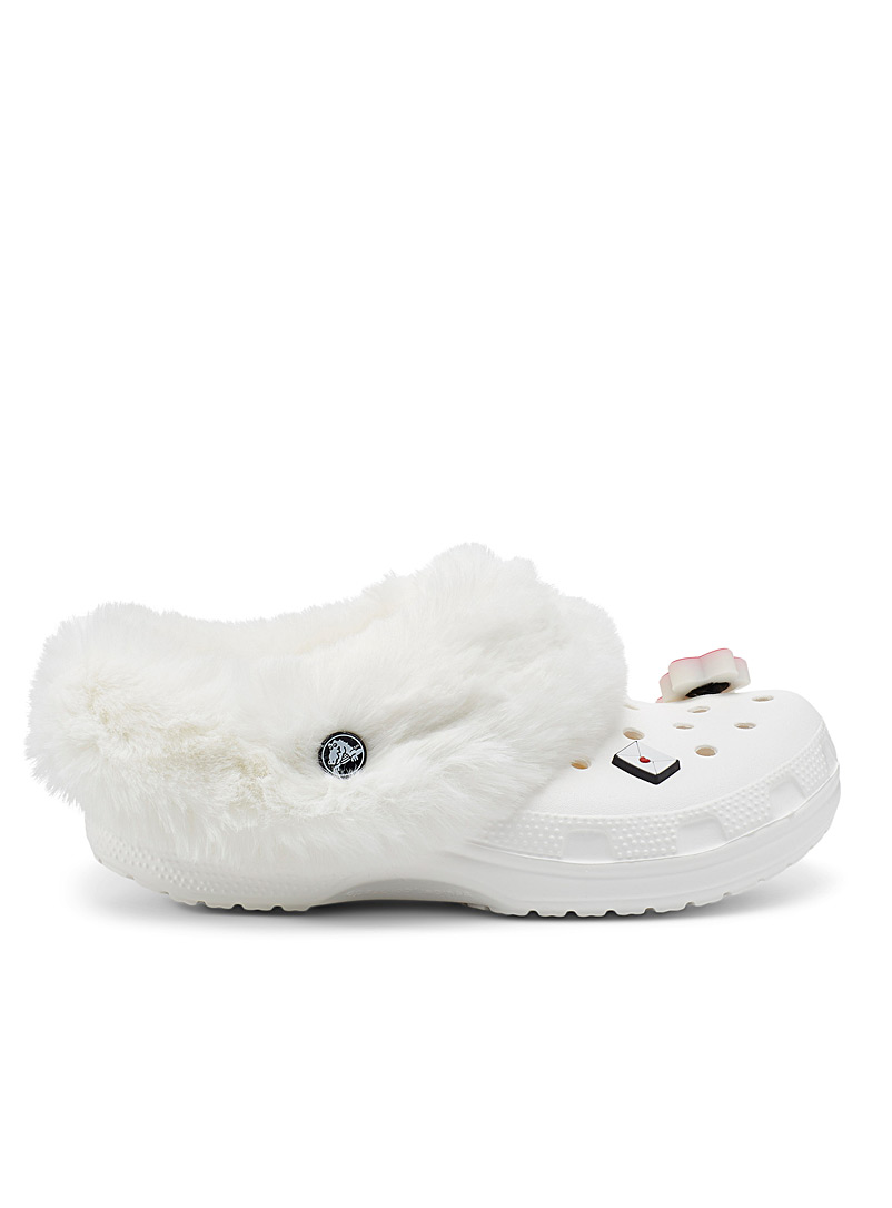 Crocs Black Mammoth Classic lined clog slippers Women for women
