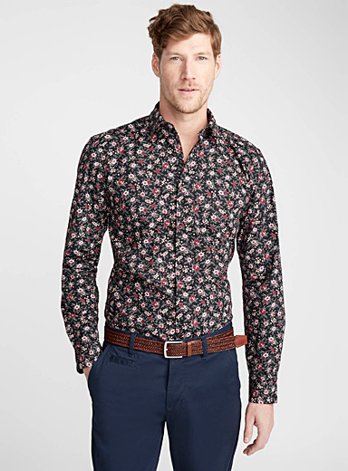 La chemise panorama floral <br>Coupe moderne