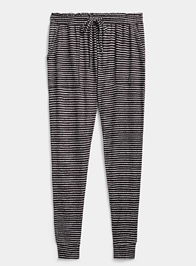 Miiyu Black Trouble pattern pant for women