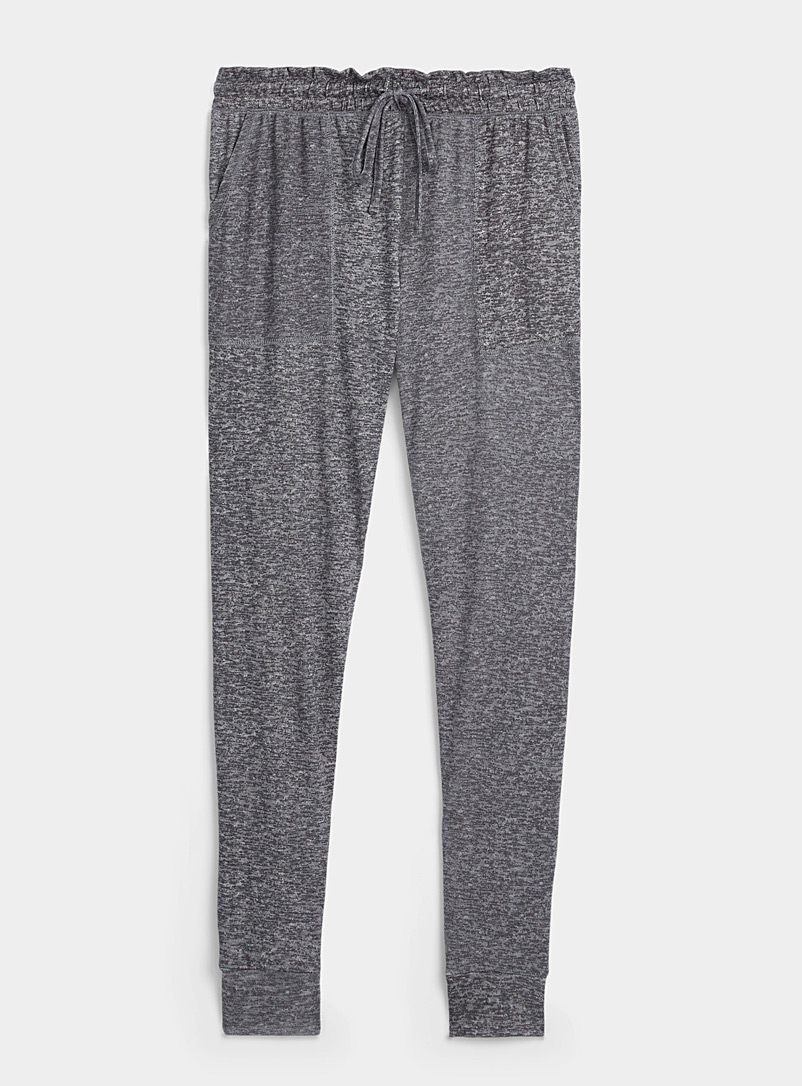 Gathered waist lounge joggers