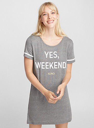 Long live the weekend nightgown