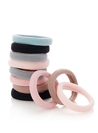 Colourful rolled elastics <br>Set of 11
