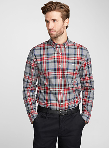 Tartan shirt  Semi-tailored fit