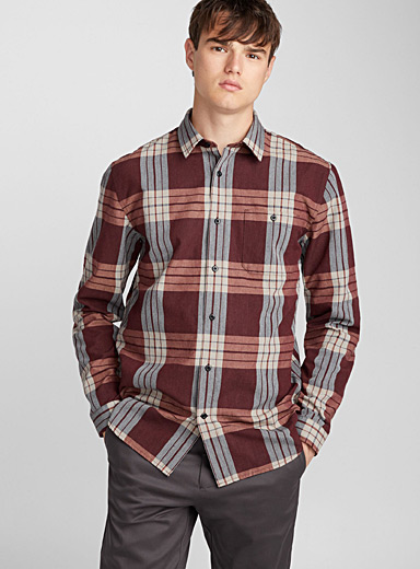 Lucasia check shirt
