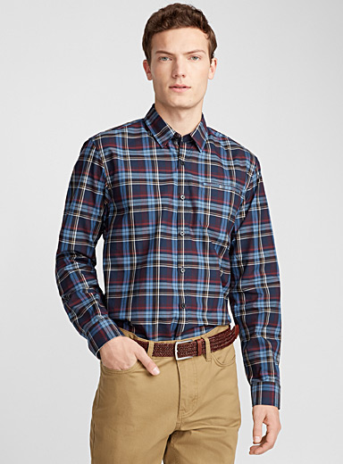Urban check shirt  Semi-tailored fit
