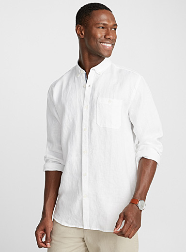 Chambray premium linen shirt  Comfort fit